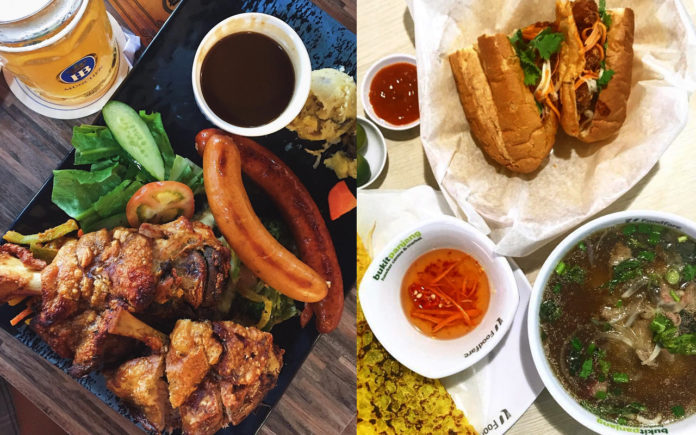 Unique Eats at Hawker Centres and Kopitiams - Otto Berlin Haus and Saigon Food Street