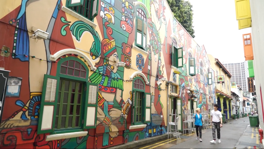 Different Side of Singapore - Haji Lane and Arab St Murals